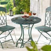 Outdoor-Möbel-Set, 3-tlg. Vintage, 3-tlg. Katalogbild