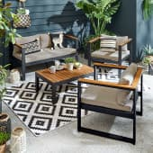 Outdoor-Lounge-Set mit 3er-Bank Kos Katalogbild