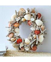 Dekokranz Coral Seaside, Maritimer Look, Muscheln, ca. Ø 33 cm Katalogbild