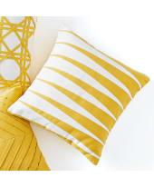 Kissenhülle Yellow Pattern, 100% Baumwolle Katalogbild