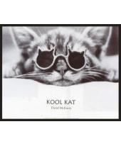 """Bild """"Kool Cat"""", 52x42 cm Vorderansicht"""