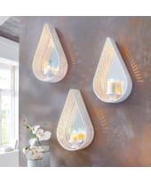 Deko-Wandwindlicht Ranja, mit Spiegel Katalogbild