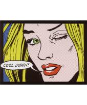 """Bild """"Cool Down"""", 80x59 cm Vorderansicht"""