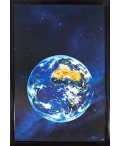 """Bild """"View to Earth"""", 65x95 cm Vorderansicht"""