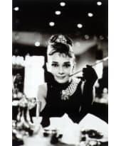 """Bild """"Frühstück bei Tiffany"""", 60x90 cm Vorderansicht"""