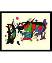 "Bild ""Obra de Joan Miró"", 84x64 cm Vorderansicht"