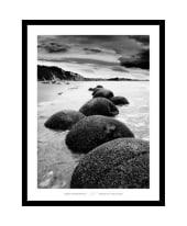 """Bild """"Otago Coast, Neuseeland"""", 66x86 cm Vorderansicht"""