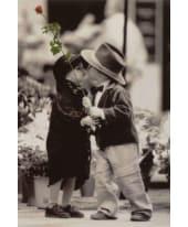 """Bild """"The first kiss"""", 60x90 cm Vorderansicht"""