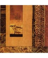 """Bild """"African Studies"""", 49x49 cm Vorderansicht"""
