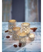 Teelichthalter-Set, 5-tlg. Orient Katalogbild