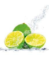 """Bild """"Lime splash"""" Vorderansicht"""