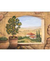 Bild Impressionen Toskana, Kunstdruck im Designerrahmen, ca. L80xH60 cm Vorderansicht