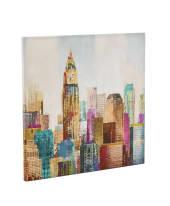 Bild City Colors, Kunstdruck, Leinwand, ca. 80 x 80 cm Vorderansicht