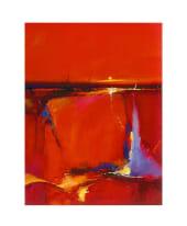 """Bild """"Red Horizon"""" Vorderansicht"""