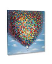 Bild Balloons, Leinwand, Acryl Vorderansicht