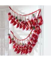 Adventskalender Red Sock, Filz Katalogbild