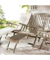 "Gartenstuhl Deckchair ""Florentine"", aus Holz, L160xB61xH98cm Katalogbild"