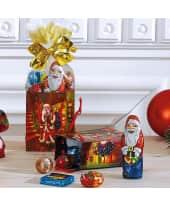Weihnachtstüte, 10-tlg. Nostalgie, je Tüte ca. 45g Schokolade Vorderansicht