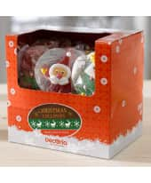 Fruchtgelee-Lollys, 12-tlg. Merry Christmas, je ca. B5xH12 cm Katalogbild