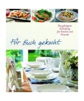 """Kochbuch """"Für Euch gekocht"""" Vorderansicht"""