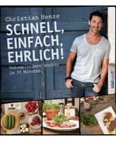 """Kochbuch """"Schnell, einfach, ehrlich!"""" Vorderansicht"""