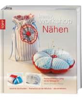 """Buch """"kreativ workshop Nähen"""" Vorderansicht"""