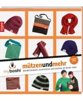 """Buch """"myboshi mützenundmehr"""" Vorderansicht"""