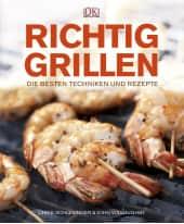 """Kochbuch """"Richtig Grillen"""" Vorderansicht"""
