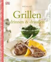 """Kochbuch """"Grillen - drinnen & draußen"""" Vorderansicht"""