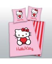 """Bettwäsche """"Hello Kitty"""", Flanell, Baumwolle Vorderansicht"""