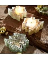 Teelichthalter-Set Tanne, 3-tlg Katalogbild