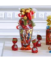 Weihnachtsbecher Nostalgie, inkl. ca. 75g Schoko-Pralinen Katalogbild