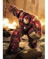Fototapete Avengers Hulkbuster, Papier, ca. L184xH254 cm Vorderansicht