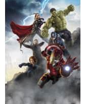 Fototapete Avengers Age of Ultron, Papier, ca. L184xH254 cm Vorderansicht