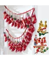 Adventskalender Red Sock, für Erwachsene, ca. 295g Schokolade Katalogbild