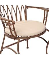 Sitzkissen-Set, 2-Stk. Versailles Vorderansicht