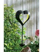 Solarleuchte Herz mit Spieß, LED, ca. H 100 cm Katalogbild