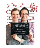 Kreidetafel Foto-Set Party Police, originelle Idee für Hochzeiten, Geburtstage oder Firmenfeier Katalogbild