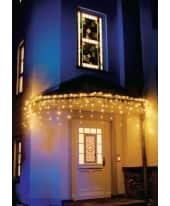 LED-Lichtervorhang, 96 LEDs Eisregen, Lichterkette Katalogbild