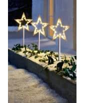 LED Gartenstecker Stern, 3-tlg. Katalogbild
