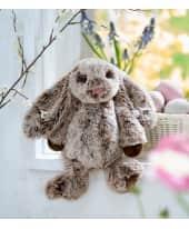 Plüschtier Hase Benno, Extra Soft, 100% Polyester, 18 cm hoch sitzend Katalogbild