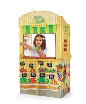 Markt-Stand, 100% Polyester, Kunststoff, ca. 33 x 66 x 102 cm Vorderansicht