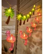 LED Lichterkette Palme, batteriebetrieben Katalogbild