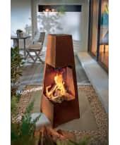 Feuerstelle Rustik, Metall Katalogbild