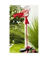 Solarleuchte Funny Birdy, LED, Farbwechsler, outdoorgeeignet, ca. H 117 cm Katalogbild