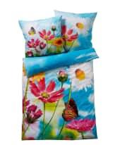 Bettwäsche Summer Feeling, mit Reißverschluss, 100% Baumwolle Vorderansicht