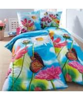 Bettwäsche Summer Feeling, mit Reißverschluss, 100% Baumwolle Katalogbild