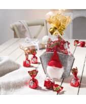 Weihnachtsbeutel mit Süßware Wichtel, 100g Weihnachtspralinen Katalogbild