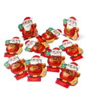 Schokoladen-Aufsteller-Set, 15-tlg. Weihnachtsmann, Kakaobestandteil 33% mind., 187,5g Vorderansicht