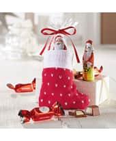 Weihnachtssöckchen mit Füllung, 55g Schokolade Katalogbild